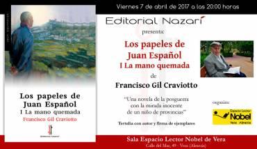 'Los papeles de Juan Español: I La mano quemada' en Vera