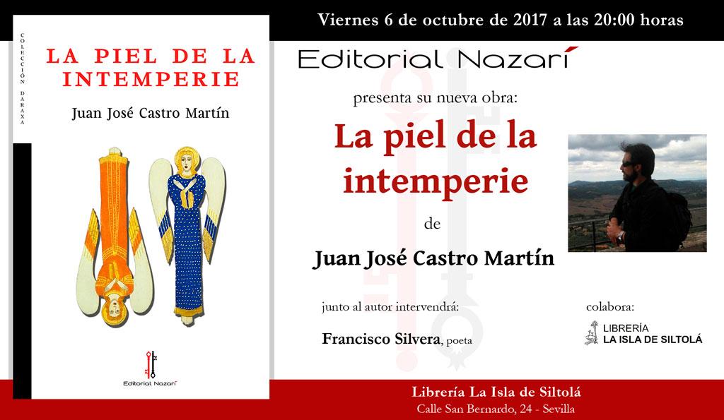 La piel de la intemperie - Juan José Castro Martín - Sevilla