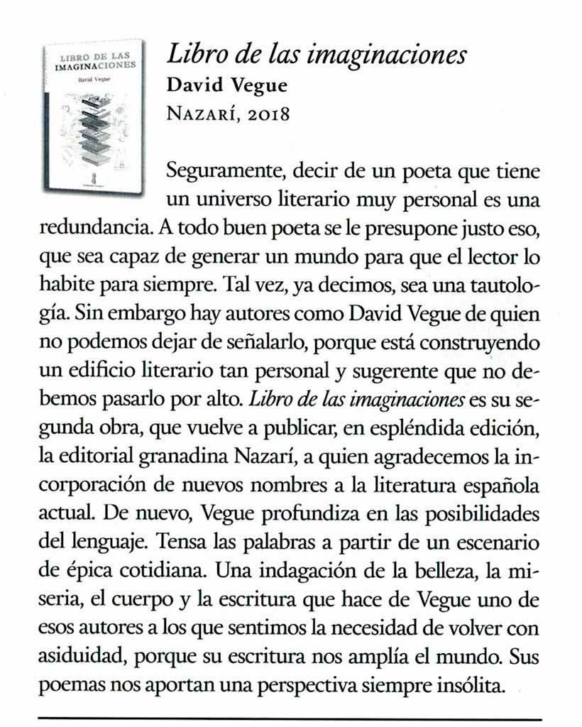 Libro de las imaginaciones - Quimera