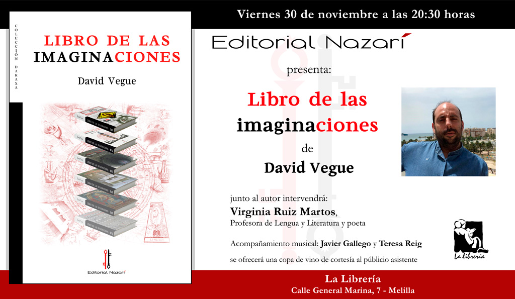 Libro de las imaginaciones - David Vegue - Melilla