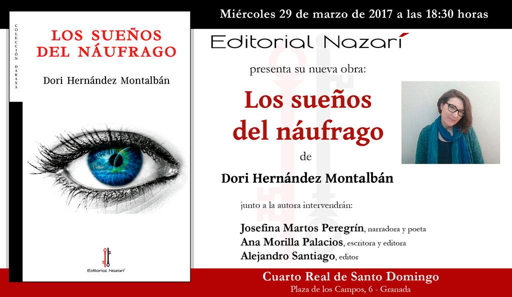Los sueños del náufrago - Dori Hernández Montalbán - Granada