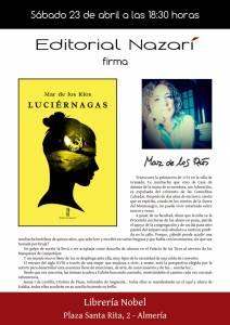 Luciérnagas - Mar de los Ríos - Nobel Almería