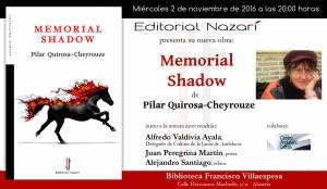 Memorial Shadow - Pilar Quirosa-Cheyrouze - Almería