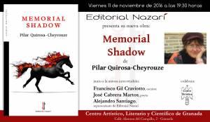 Memorial Shadow - Pilar Quirosa-Cheyrouze - Granada