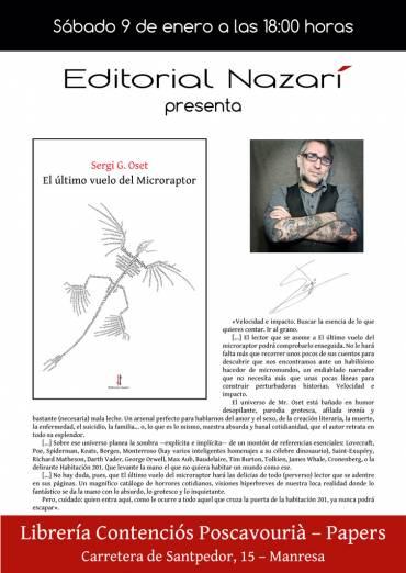 'El último vuelo del Microraptor' en Manresa