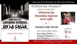 Mientras las limusinas esperan en la calle - Antonio César Morón - Granada