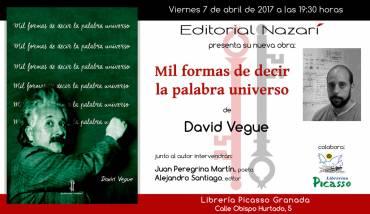 'Mil formas de decir la palabra universo' en Granada