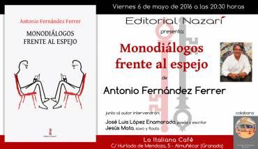 'Monodiálogos frente al espejo' en Almuñécar