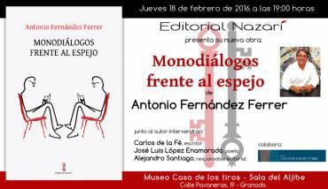 'Monodiálogos frente al espejo' en Granada