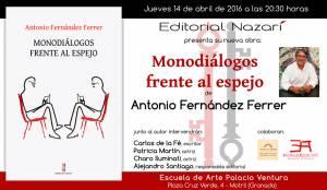 Monodiálogos frente al espejo - Antonio Fernández Ferrer - Motril