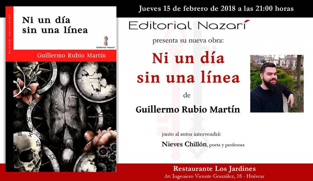 Ni un día sin una línea - Guillermo Rubio Martín - Huéscar