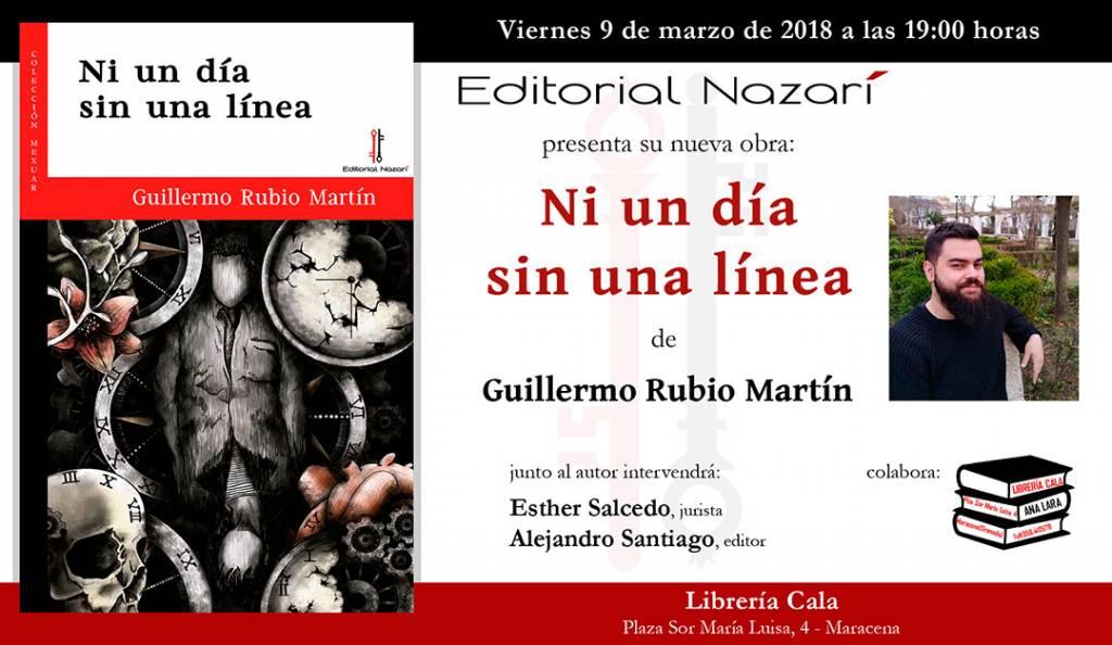 Ni un día sin una línea - Guillermo Rubio Martín - Maracena
