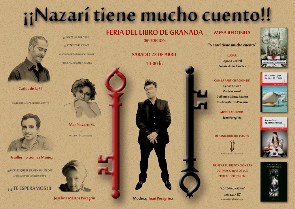 Nazarí tiene mucho cuento - Feria del Libro de Granada - FLG