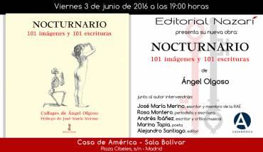 'Nocturnario' en la Casa de América en Madrid