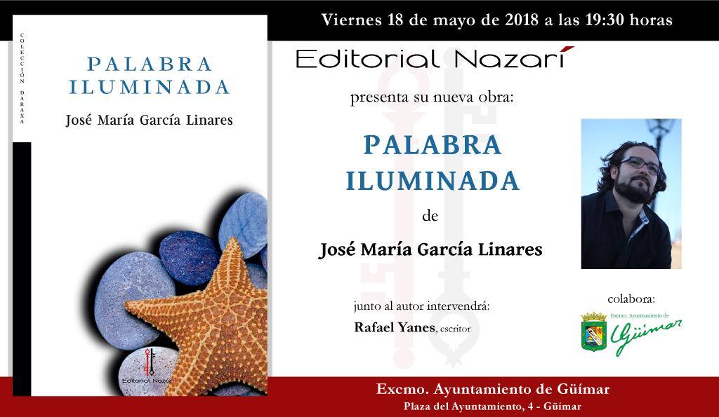 Palabra iluminada - José María García Linares - Güímar