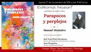 Parapocos y perplejos - Manuel Montalvo - Granada