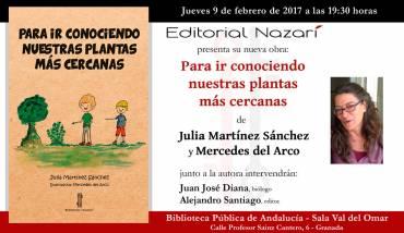 'Para ir conociendo nuestras plantas más cercanas' en Granada