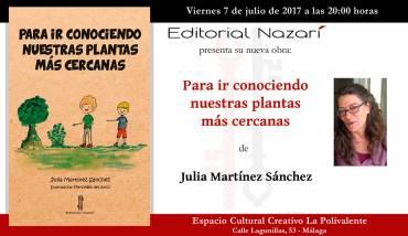 'Para ir conociendo nuestras plantas más cercanas' en Málaga