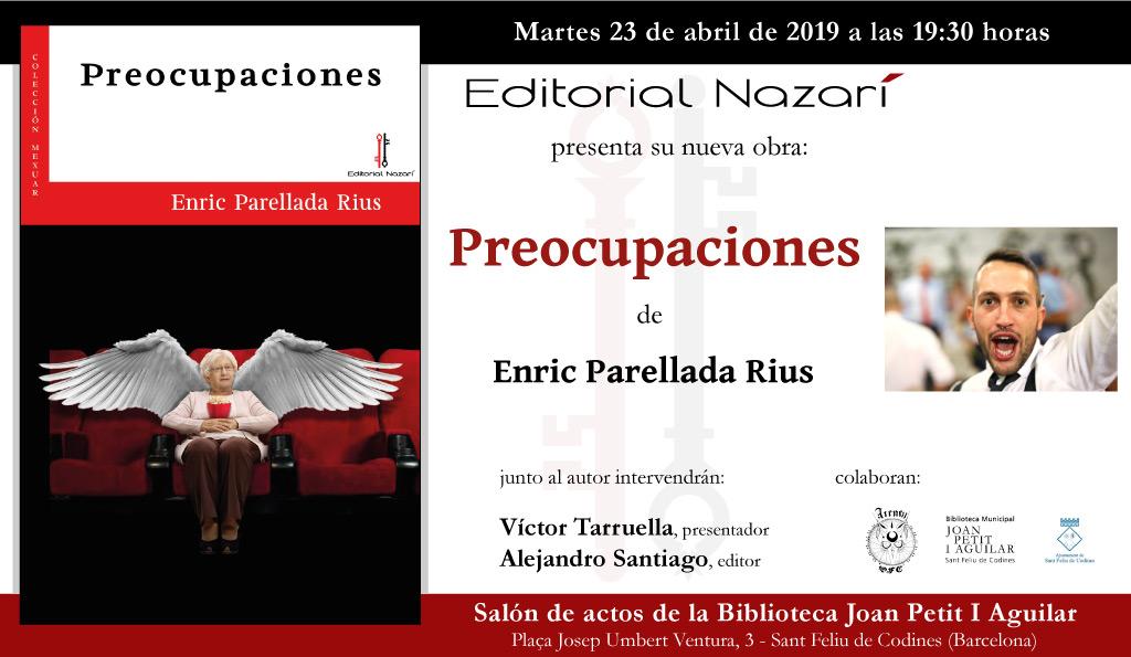 Preocupaciones - Enric Parellada Rius - Sant Feliu de Codines