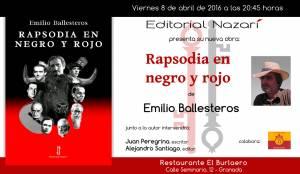 Rapsodia en negro y rojo - Emilio Ballesteros - Granada
