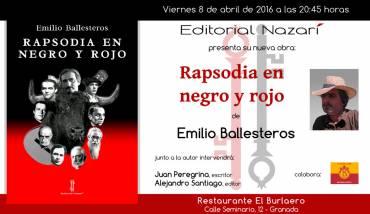 'Rapsodia en negro y rojo' en Granada