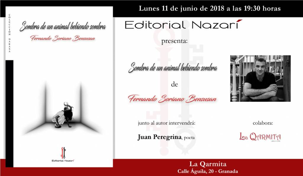 Sombra de un animal bebiendo sombra - Fernando Soriano Bensusan - La Qarmita