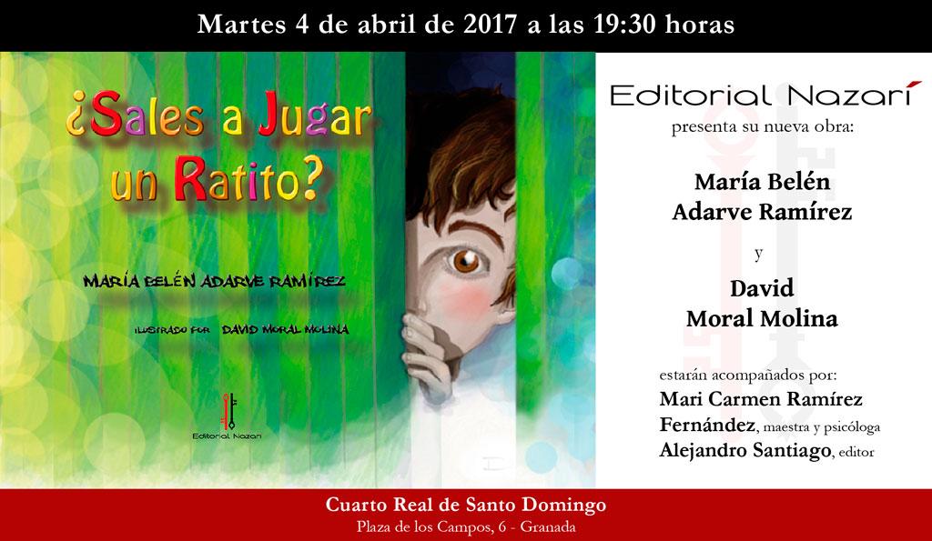 ¿Sales a jugar un ratito? - María Belén Adarve Ramírez - Granada
