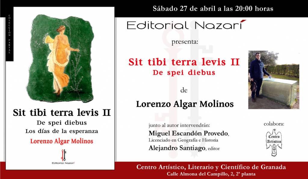 Sit Tibi Terra Levis II De spei diebus - Lorenzo Algar Molinos - Granada