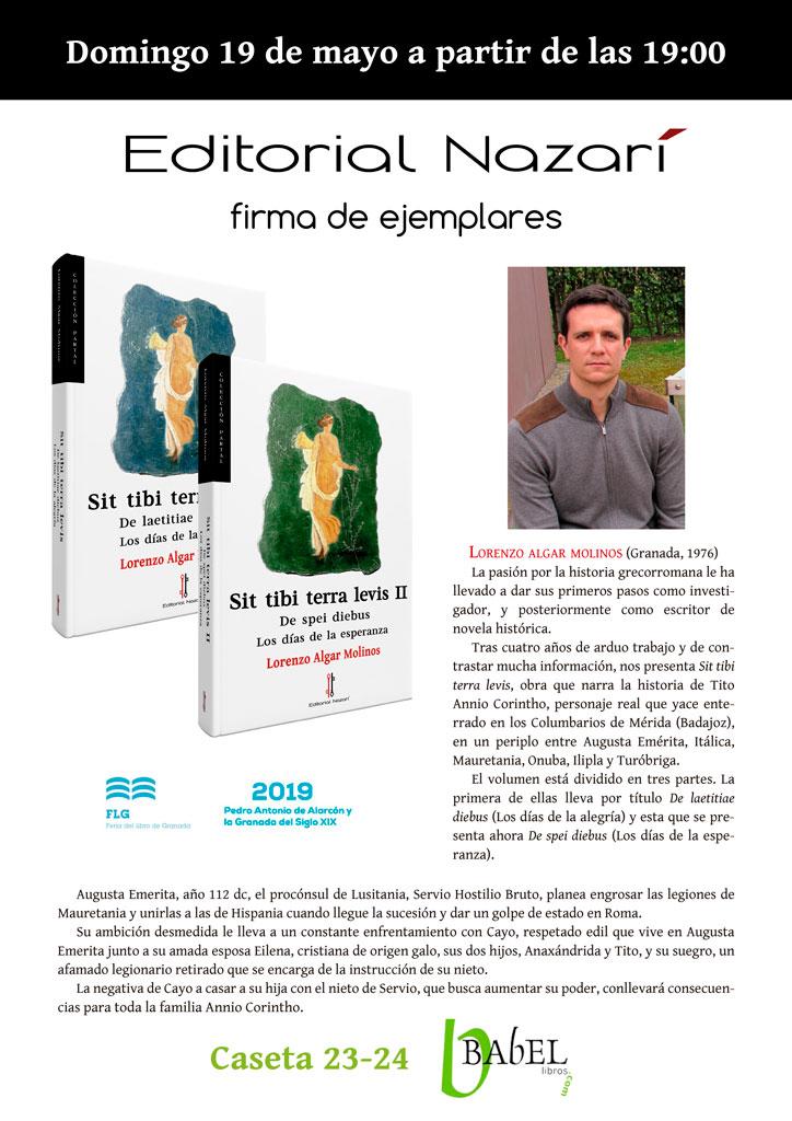 Sit tibi terra levis - Lorenzo Algar Molinos - FLG - Babel