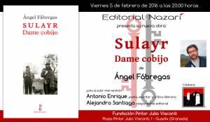 Sulayr, dame cobijo - Ángel Fábregas - Guadix