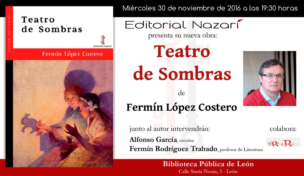 Teatro de Sombras - Fermín López Costero - León