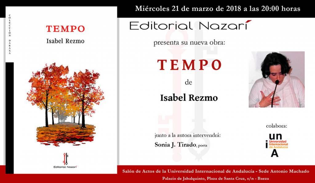 Tempo - Isabel Rezmo - Baeza