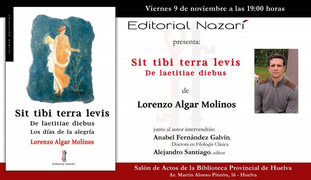 Sit Tibi Terra Levis: De laetitiae diebus - Lorenzo Algar Molinos - Huelva