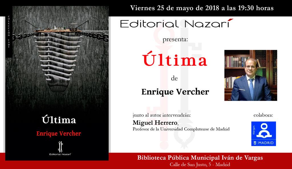 Última - Enrique J. Vercher García - Madrid