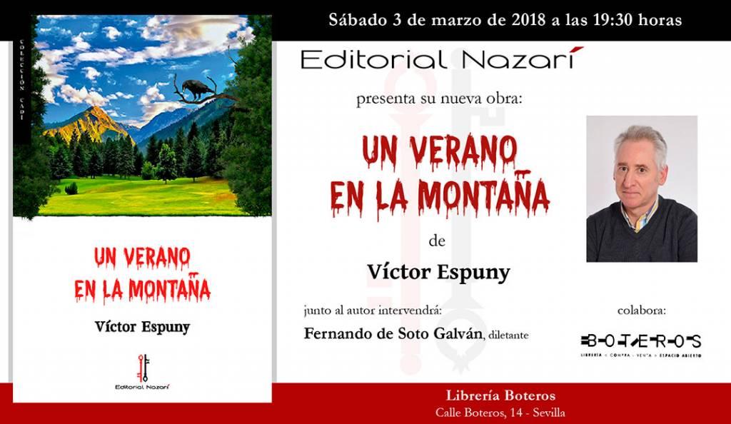 Un verano en la montaña - Víctor Espuny - Sevilla