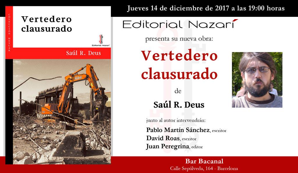 Vertedero clausurado - Saúl Roas Deus - Barcelona