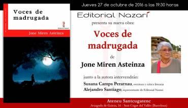 'Voces de madrugada' en Sant Cugat