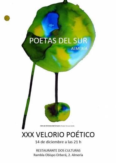 'Crepúsculo eviterno y Elegías de añoranza' en el XXX Velorio Poético de Almería
