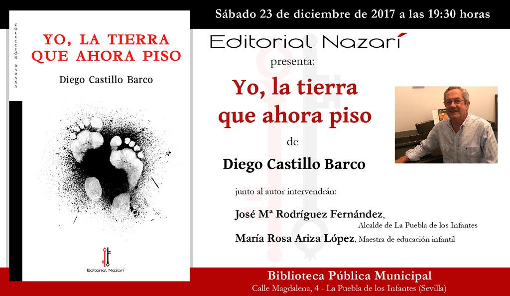 Yo, la tierra que ahora piso - Diego Castillo Barco - La Puebla de Los Infantes