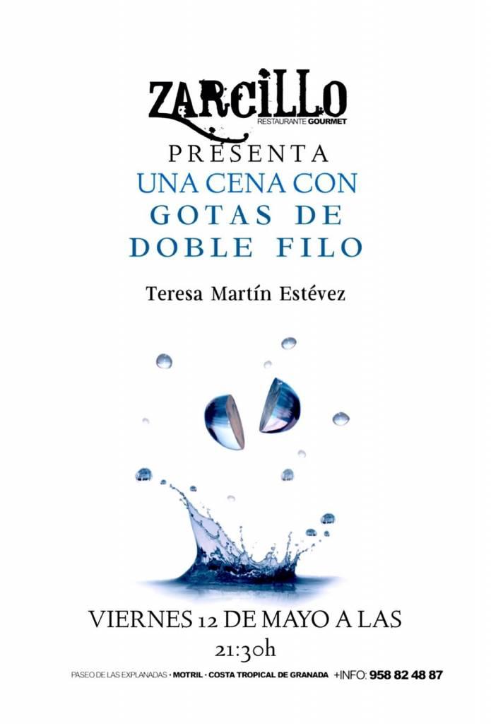 Gotas de doble filo - Teresa Martín Estévez - Zarcillo Motril