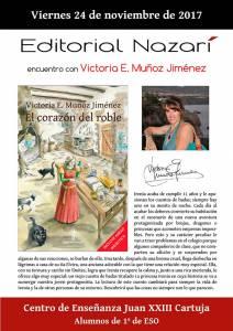El corazón del roble - Victoria E. Muñoz Jiménez - Colegio Juan XXIII - Cartuja