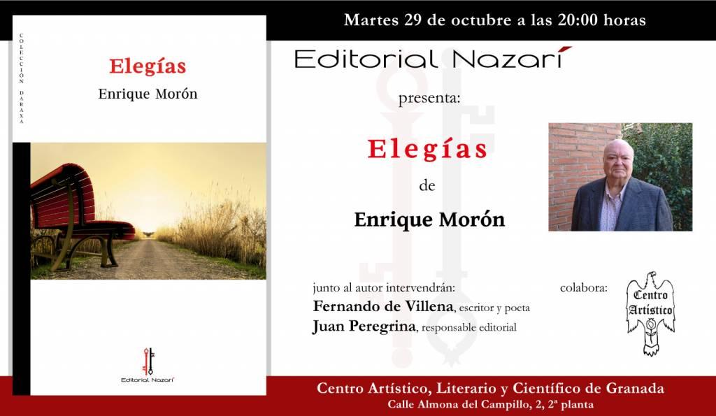 Elegías - Enrique Morón - Centro Artístico - Granada