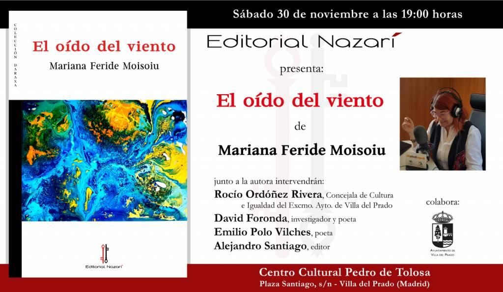 El oído del viento - Mariana Feride Moisoiu - Villa del Prado