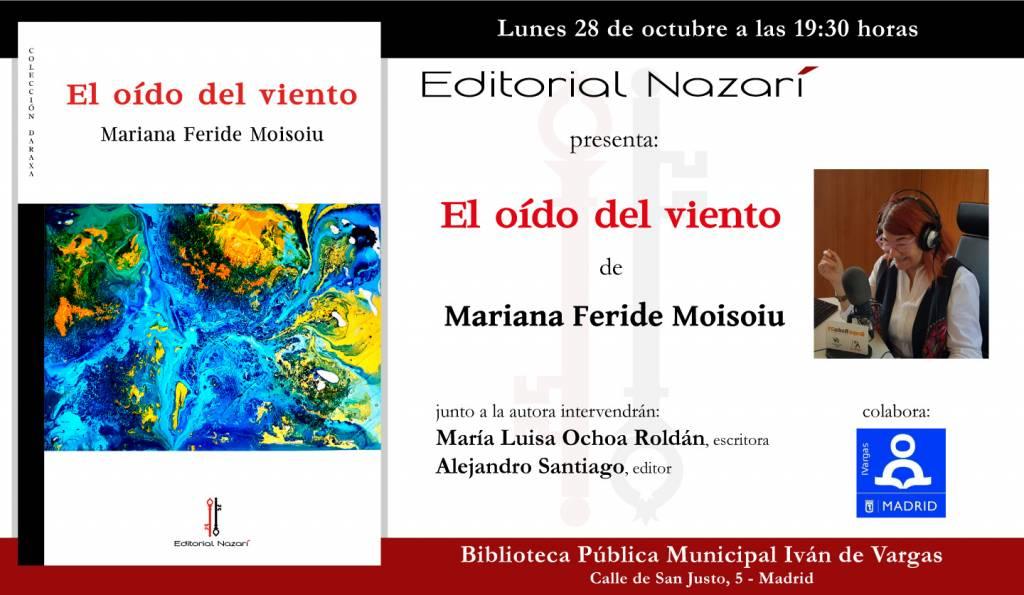 El oído del viento - Mariana Feride Moisoiu - Madrid