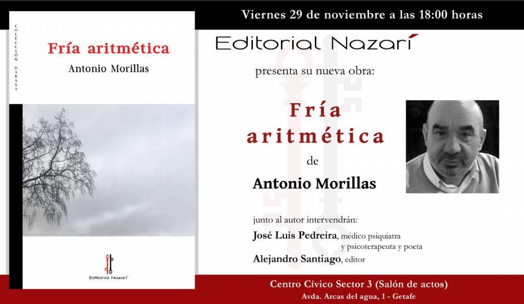 Fría aritmética - Antonio Morillas - Getafe