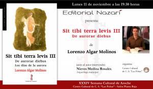 Sit Tibi Terra Levis: De aurerae diebus - Lorenzo Algar Molinos - Aroche