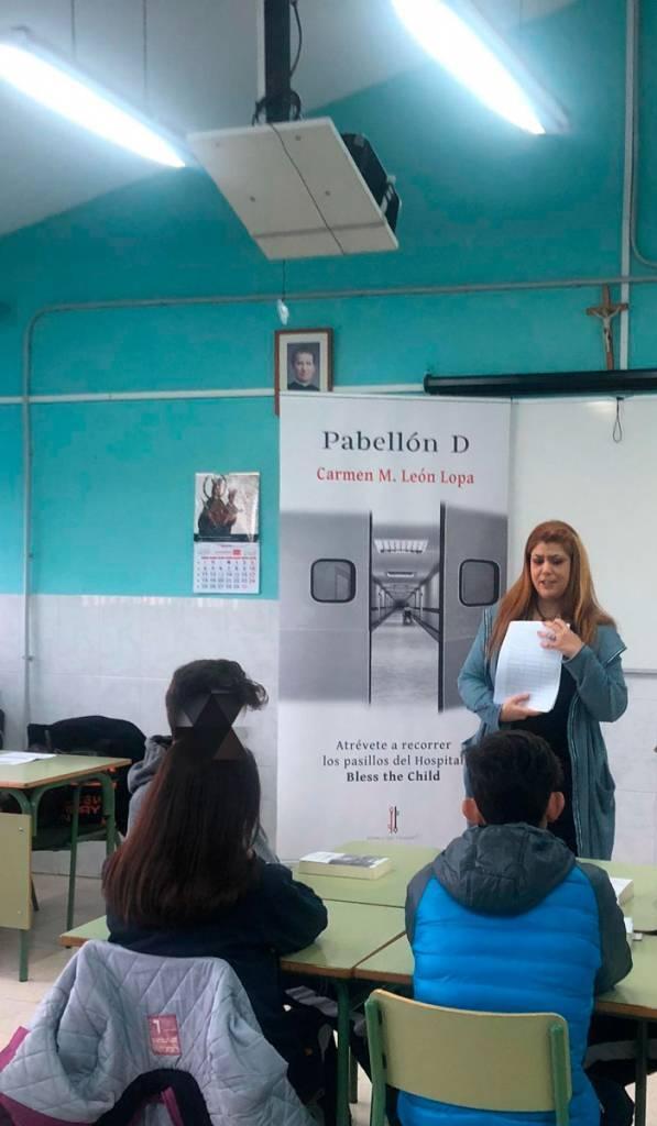 Pabellon D - Carmen M. León Lopa - Salesianos 01