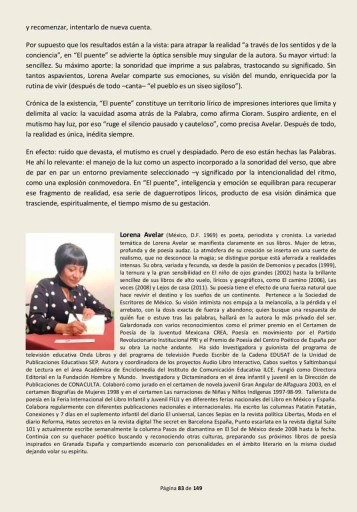 El puente - Lorena Avelar - De Sur a Sur (Febrero 2020) 02