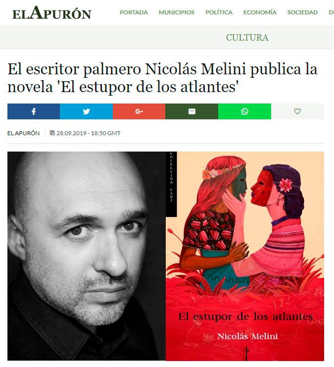 El estupor de-los atlantes - Nicolás Melini - El Apurón