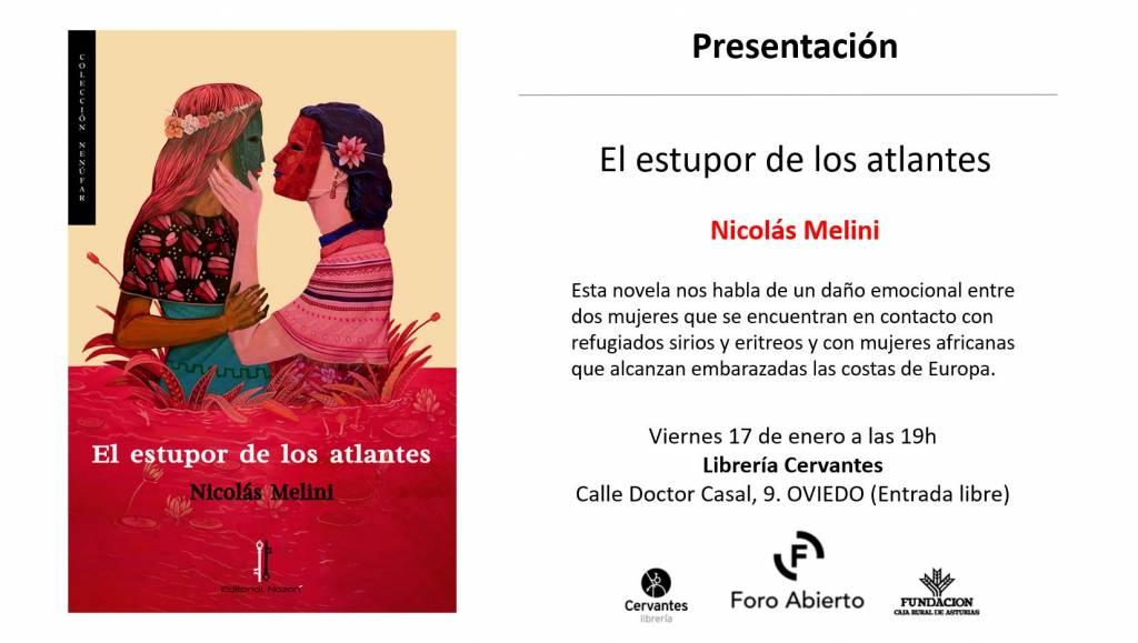 El estupor de los atlantes - Nicolás Melini - Librería Cervantes - Oviedo
